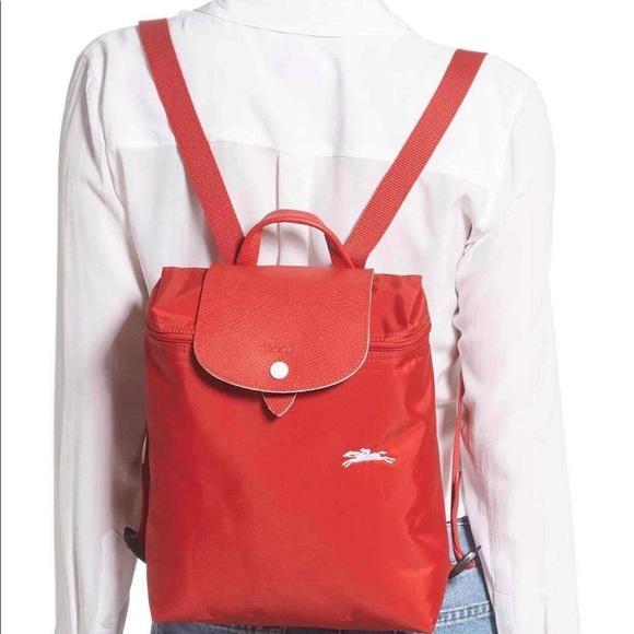 Authentic Longchamp Le Pliage Club Backpack